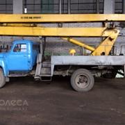 Предоставляем услуги автовышки АГП-18 метров фото