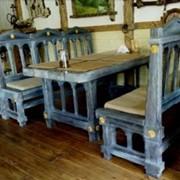 Столы стулья лавки фото