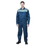 Костюм мужской Пантеон синий серый размер 112-116/170-176 фото