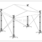Крышные системы двуактные 8х6, 10х8 и 12х10 фото