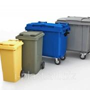 Евроконтейнер для ТБО (мусорный контейнер) фото