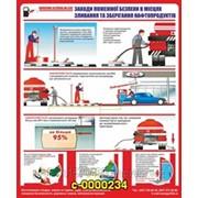 Уголок пожарной безопасности В местах слива нефтепродуктов фото