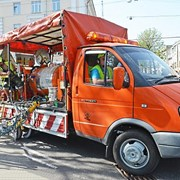 Дорожная разметка, дорожные знаки, Новосибирск фото