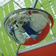 Сферические зеркала (купольные) зеркала фото