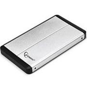 Корпус для HDD 2.5 SATA Gembird EE2-U3S-2-S до 1 Тб, алюминиевый, серебристый, чехол, usb 3.0 фото