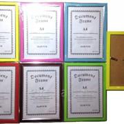 Рамка Цветная плоская 20х30 YY17 16BS0408-7 фото