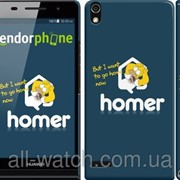 """Чехол на Huawei Ascend P6 Гомер. Истерика """"3043c-39"""" фото"""
