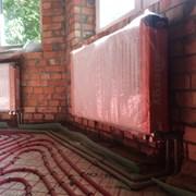 Установка радиаторов и теплого пола под ключ фото