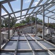 Монтаж металлических конструкций Украина фото