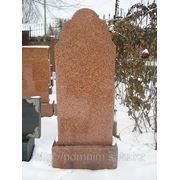 """Памятник из """"курдайского"""" гранита фото"""
