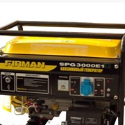 Бензиновый генератор SPG3000E1. 2,4кВт эл.стартар фото