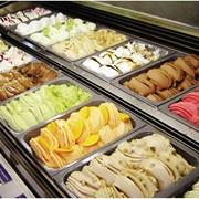Итальянское мороженое в ассортименте фото