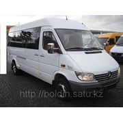 Пассажирские перевозки на комфортабельных микроавтобусах Mersedes Sprinter 15, 18, 20 мест фото