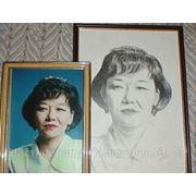 Портреты по фотографии на заказ. фото