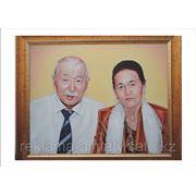 Портреты Картины Роспись на стены фото