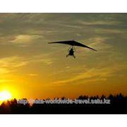 Полет на дельтаплане фото