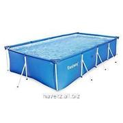 Прямоугольный каркасный бассейн Steel Pro Frame Pool Bestway 56041, (239 х 160 х 62см) фото