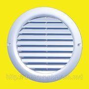 Круглая вентиляционная решетка 125 бВс фото
