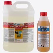 Эпоксидная смола YD-128 (5 кг) с отвердителем ПЭПА (500 гр) фото