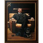 Портрет маслом по фото на заказ фото