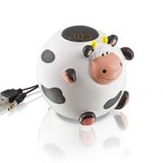Портативная акустическая система в виде Коровы фото