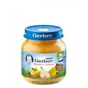Пюре Gerber 130г яблоко, груша с 4мес фото