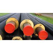 Предварительно изолированные трубы ППУ и фасонные части для теплосетей по ГСТУ 34-204-88-002-98 фото