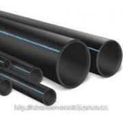 Труба полиэтиленовая ПЭ 80 Дн 140х10,3 (мм) Ру-10 (атм) SDR 13,6 производства Украина фото