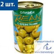 """Оливки """"REAN"""" с креветками фото"""