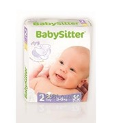 Подгузники BabySitter Mini 3-6 кг., 50 шт. фото