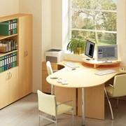 Мебель для офиса, гостиницы, ресторана, а также для дома из ДСП и массива твердых пород древесины фото