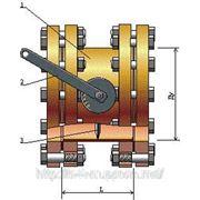 Заслонка дроссельная газовая с электроприводом Ду100 Рр12 фото