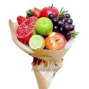 Букеты из овощей и фруктов фото