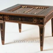 Шахматный стол Делюкс фото