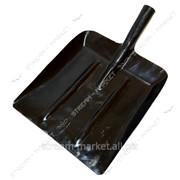 Лопата для снега Днепропетровск (металл крашен. черная) 30х40 №429403 фото