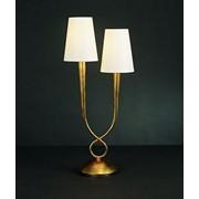 Настольная лампа Mantra Paola Painted Gold 3546 фото