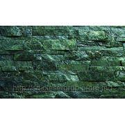 Сланец Болгарии «темно-зеленый» лапша 25мм 50мм фото