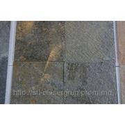 Сланец индийский DEOLI GREEN в плитке 400*200*12мм фото