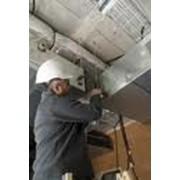 Установка вентиляционных систем фотография