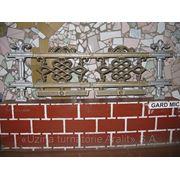 Декоративное литье забор малый фото
