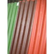 Шифер 8-ми волновой крашеный ОПТОМ (красный, зеленый, коричневый) фото