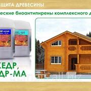 Огнебиозащита для дерева и древесины. Огнезащита, антисептик, антипирен. Доставка фото