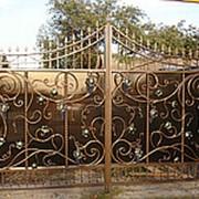 Ворота распашные РВ-19 фото