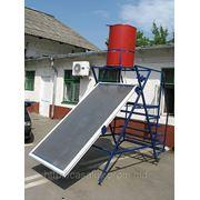 Высокоэффективный солнечный водонагреватель фото