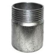 Резьба оцинкованная стальная короткая, сантехническая Ду65 ГОСТ8966-75 фото