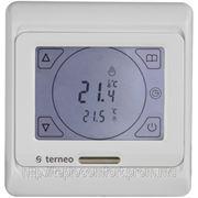 Электронный терморегулятор terneo sen — сенсорный программируемый недельный фото