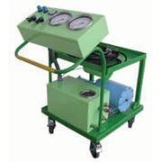Мобильная установка гидроиспытаний газовых автобаллонов МУГ фото