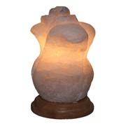 Соляная лампа Роза 5 кг фото