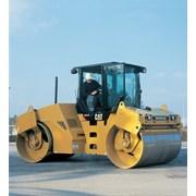 Аренда асфальтового катка 7 тонн Caterpillar CB434 фото