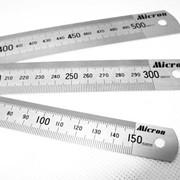 Линейка измерительная метал. 150х19 МИК* фото
